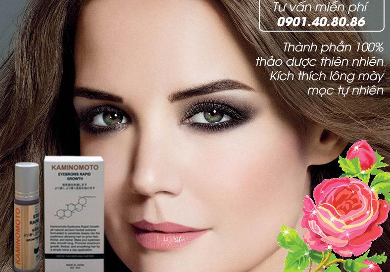 Nguyên nhân lông mày rụng và cách khắc phục hiệu quả