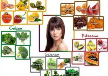 Những thực phẩm có ích cho mái tóc của bạn