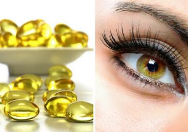 Dưỡng Mi Dài Và Đẹp Nhờ Vitamin E